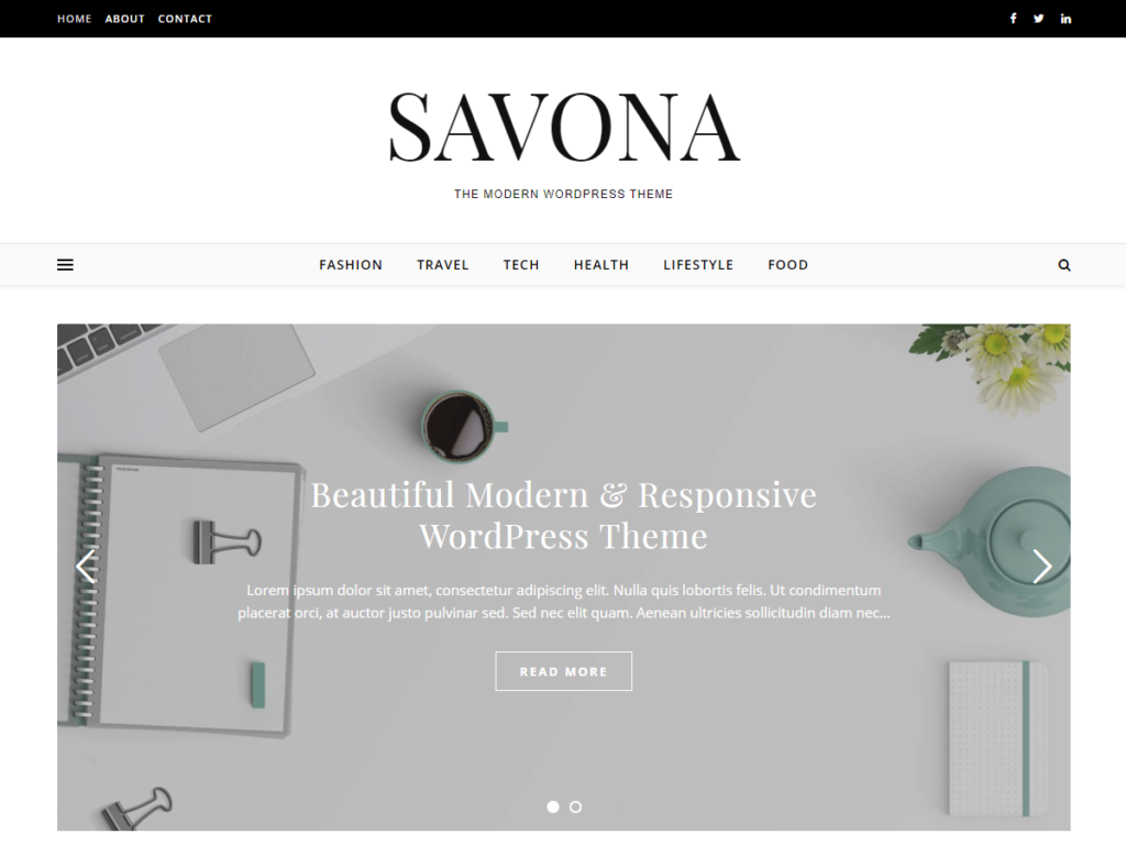Free and Premium Wordpress Themes - Optima Themes